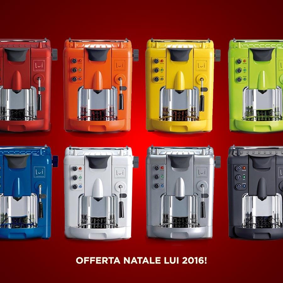 Offerta Lui Espresso macchine caffe Genova traverso cadeaux
